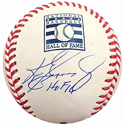 7f418a43e9 Image Unavailable. Image not available for. Color: Ken Griffey Jr. Signed  Baseball ...