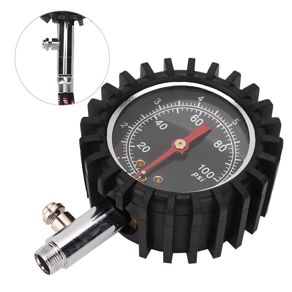 strumento di misurazione della pressione dellaria ad alta precisione Utensile per la pressione dei pneumatici per autoveicoli manometro universale per pneumatici ad alta precisione