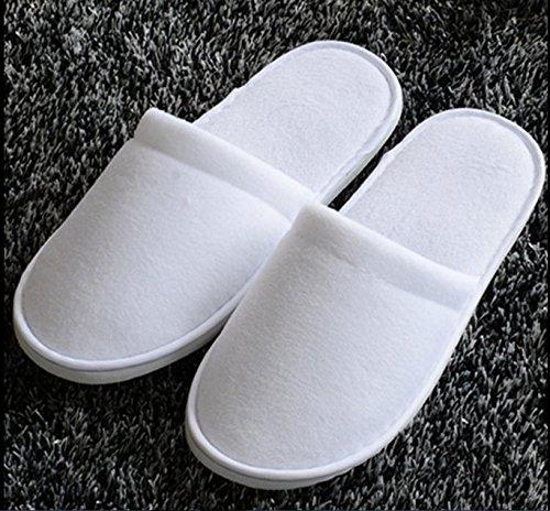 Spa Pantofole Ospiti Getta Gli 10 Viaggio Bianco Da Colore Per Usa E Paia Di Hotel HwqcZgqEv