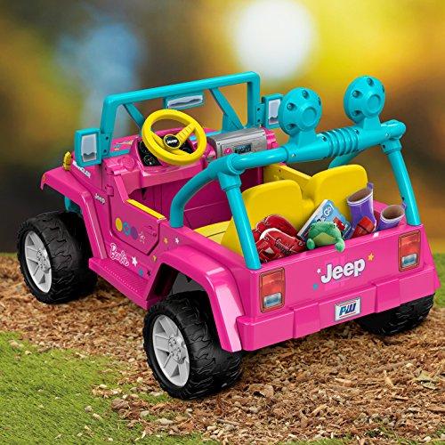 61t6FOgqavL - Power Wheels Barbie Jeep Wrangler