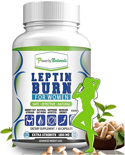 Power By Naturals Quemador De Leptina Para Mujeres Supresor De Apetito Natural Refuerzo Del Metabolismo Para El Control De Peso Píldoras De Dieta Suplementos De Leptina 60