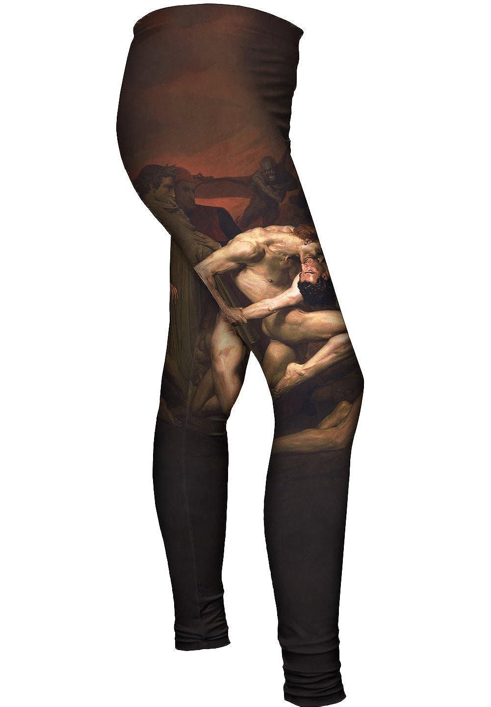 William-Adolphe Bouguereau Dante Yizzam -New Ladies Womens Leggings 2683