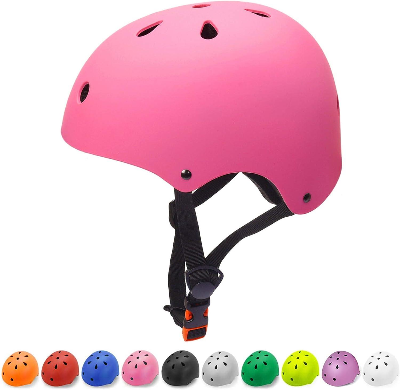 Glaf Kids Bike Helmet Toddler Helmet Children Multi-Sport Helmet CPSC Certified Impact Resistance Ventilation Adjustable Helmet Skateboard Cycling Helmet : Sports & Outdoors