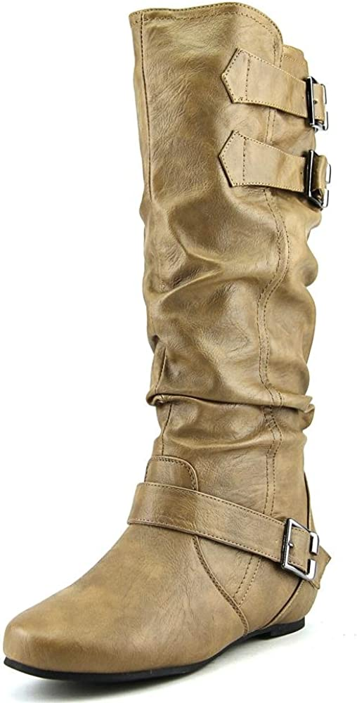 Journee Collection Women's 'Tiffany' Regular and Wide-Calf Slouch Boot