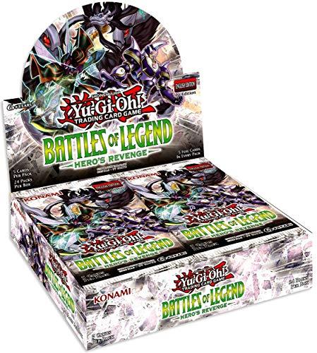 Yu-Gi-Oh! TCG: Battles of Legend - Hero`s Revenge Booster Display (24)