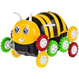 rungoi Cartoon Animal Dump Truck Toy for Kids with Lights and Music