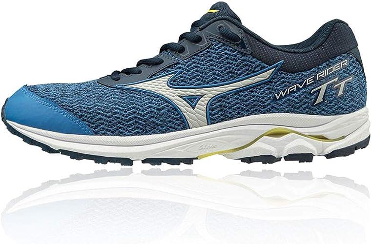Mizuno Wave Rider TT Neutralschuh Herren - Blau, Dunkelblau, Zapatillas de Running Calzado Neutro para Hombre: Amazon.es: Zapatos y complementos