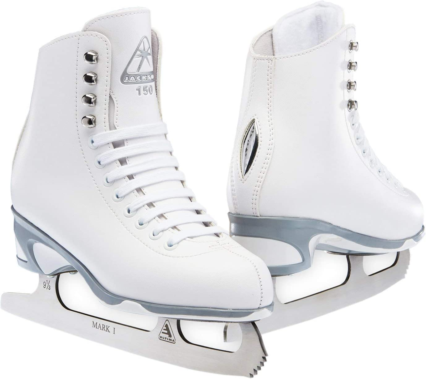 Jackson JS 154 SoftSkate 幼児用アイススケート靴 (サイズ 8)