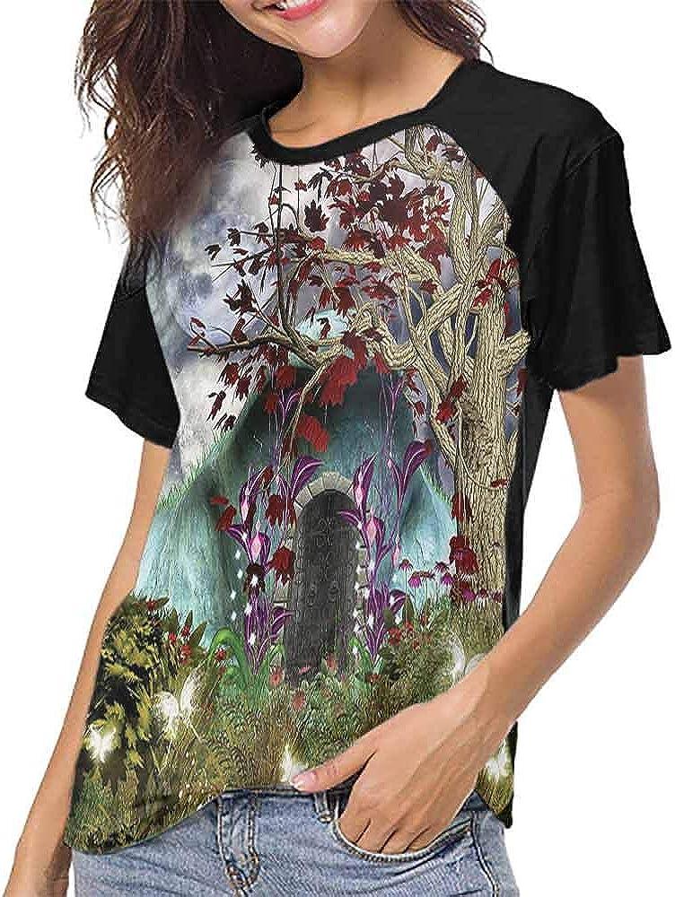 Mangooly Men T Shirt,Lion,Sketch Baby Lion Smiling Heart S-XXL Womens Short Sleeve Blouses