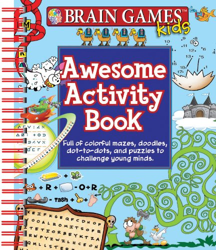Read Online Brain Games Kids Awesome Activity Book ebook