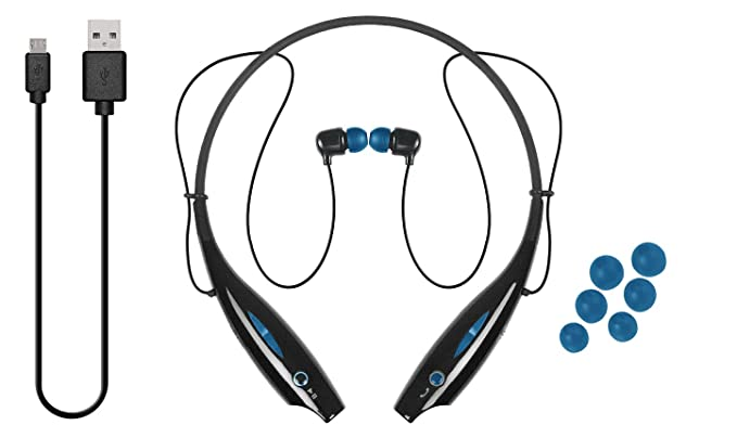 iJoy LGO-NCB-TRE Logo Premium Wireless Active Bluetooth Neck Band Headset Retail Packaging