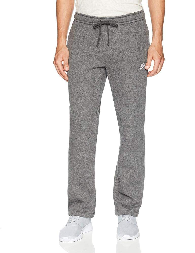 Men's Nike Sportswear Club Sweatpant, Fleece Sweatpants for Men with Pockets, Charcoal Heather/White, S by Nike (Image #3)