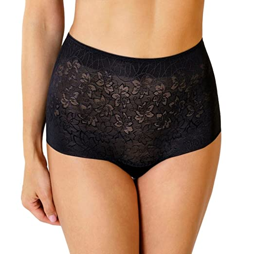 2d397901e724 Rosme Lace High Waist Boyshort Panty Powerlace at Amazon Women's Clothing  store: