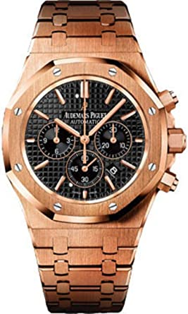Amazon Com Audemars Piguet Royal Oak 41mm Chronograph Rose Gold