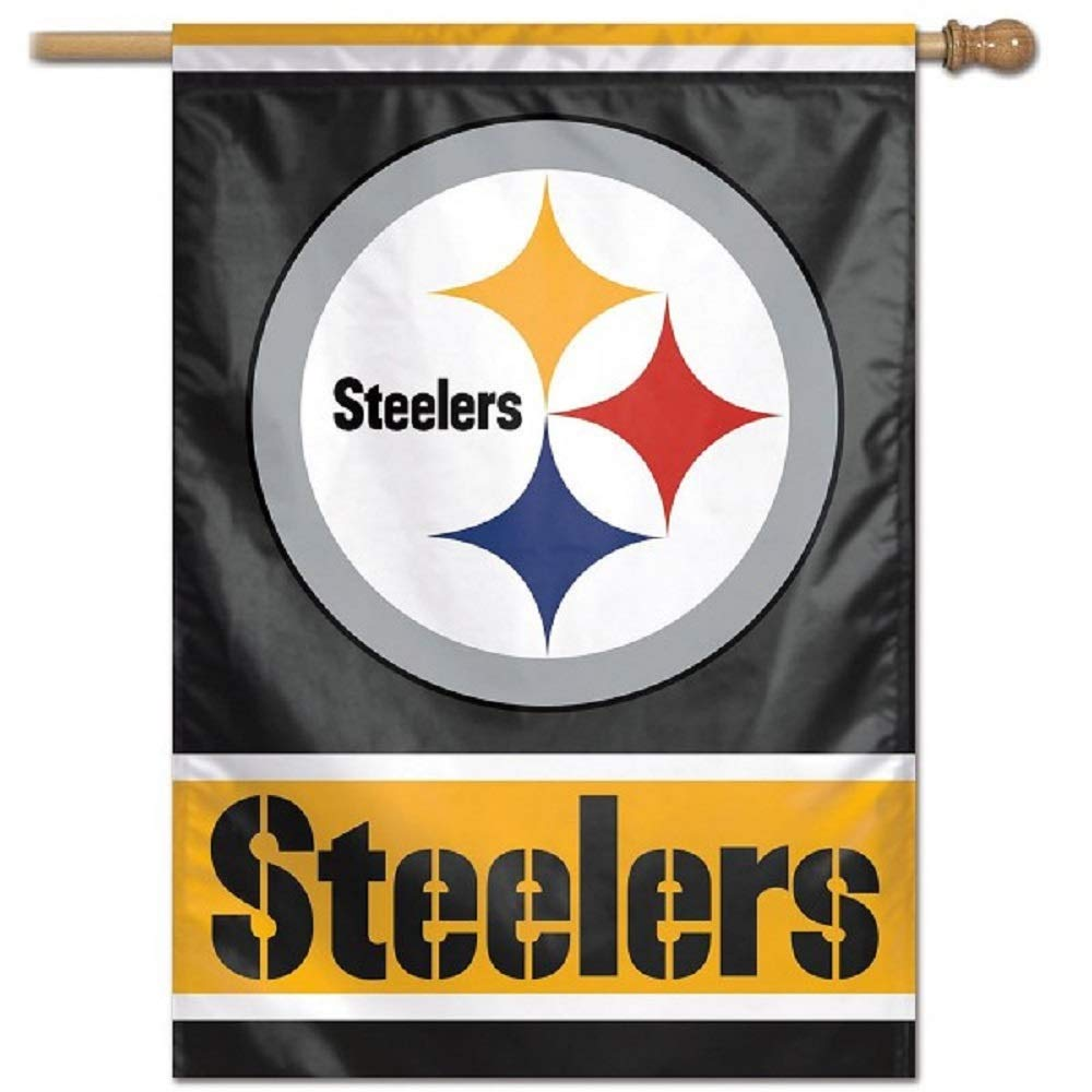 Wincraft Pittsburgh Steelers Vertical Flag 27x37 Banner