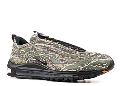 Nike Mens Air Max 97 Premium QS Country Camo USA Olive/Black-Sand Leather