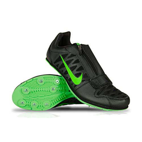 size 40 840ab bd0d9 new Nike Zoom LJ 4 Long Jump Track Spikes Shoes Black Green Size 7 Mens  (Womens 8)  Amazon.ca  Shoes   Handbags
