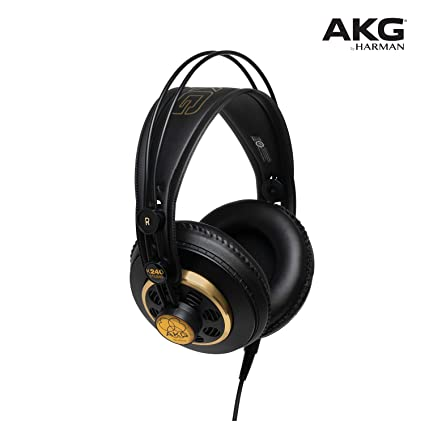dbc04244fe1 Amazon.com: AKG K240STUDIO Semi-Open Over-Ear Professional Studio Headphones:  Musical Instruments