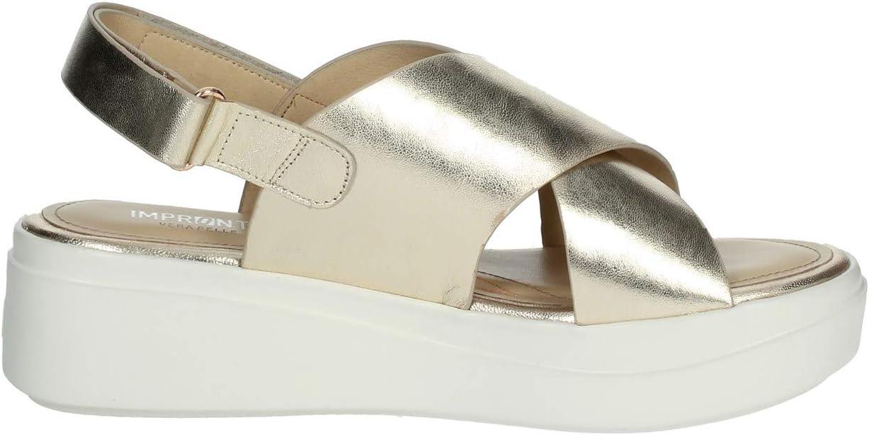 Impronte IL01529A Sandals Women Platino