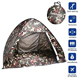 LetsFunny Automatic Pop Up Beach Tent/Camping  Tent?99% UV Protection Sun Shelters,Portable Quick Cabana Sun Shelter