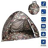 LetsFunnyAutomaticPopUpBeach Tent/CampingTent?99%UVProtectionSunShelters,PortableQuickCabana Sun Shelter