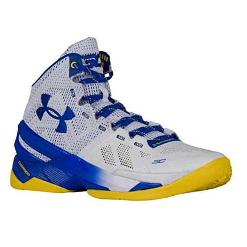 3b14a2ac5c78 Under Armour Curry 2 Dub Nation Away 1259007-104 US Size 11 White Blue   Amazon.ca  Shoes   Handbags