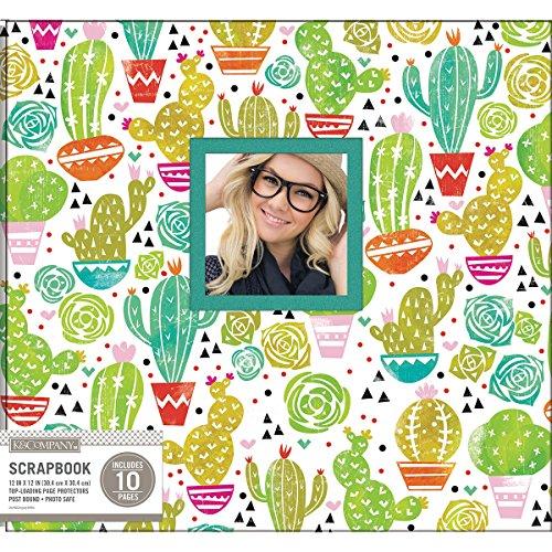 8 Scrapbk 12x12 Window Block Print Cacti Scrapbook 12x12 Blockprntcacti (12 X 12 Scrapbook Prints)