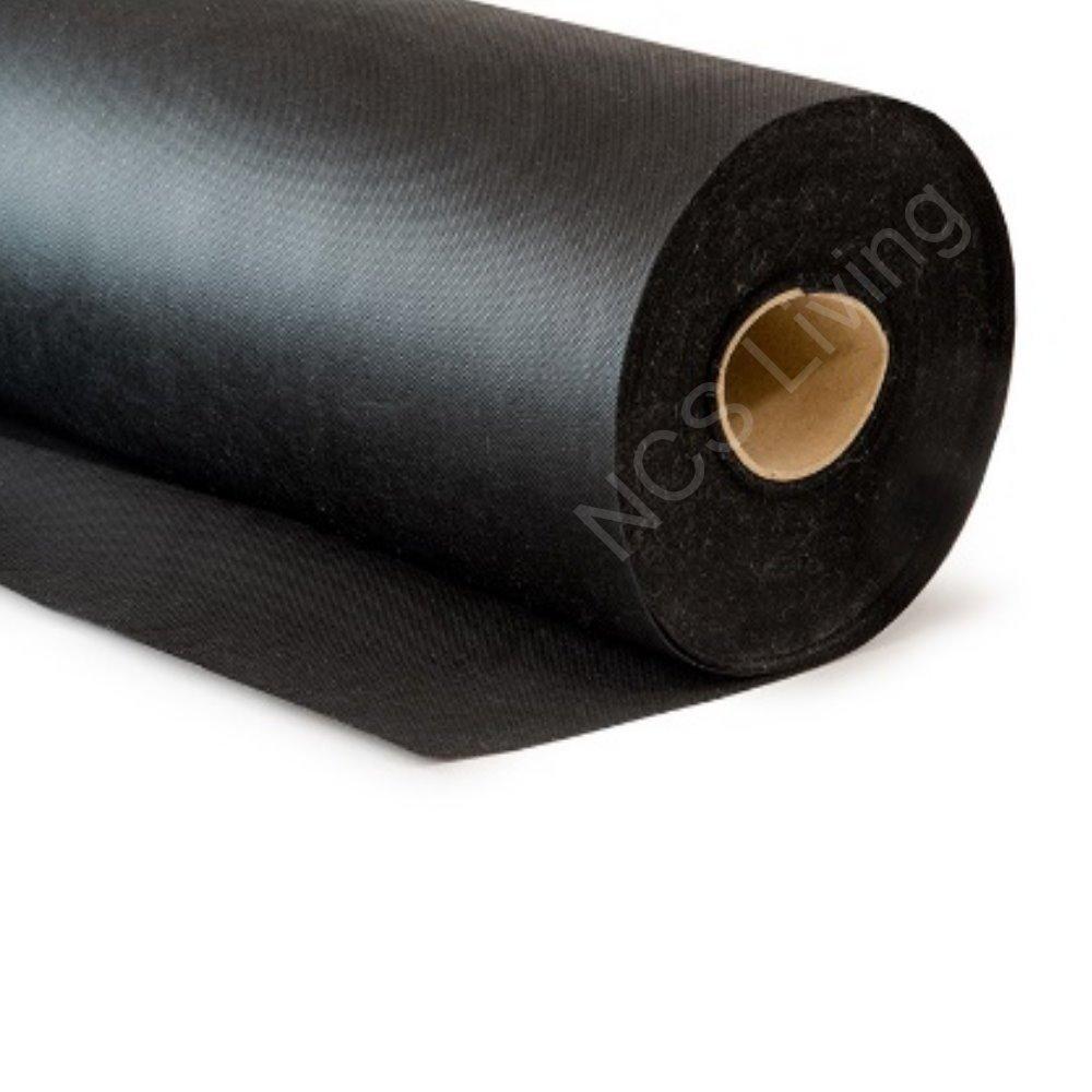 Black Corovin Upholstery Lining Fabric Base Cloth Dipryl Spun Bond Liner 70gms (1 Metre) NCS