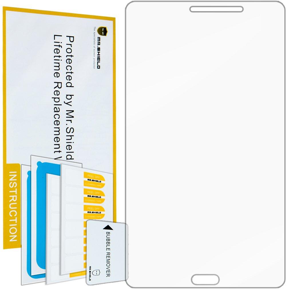 [ 5 - Pack ] Mr Shield Samsung Galaxy Tab 4 7.0 7インチプレミアムクリアスクリーンプロテクター無期限交換保証   B00JVJ3DIM