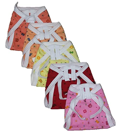 Montu Bunty Wear Baby Nappies  Pack of 5