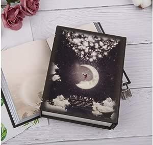 Caja del tesoro a la luz de la luna con cerradura del