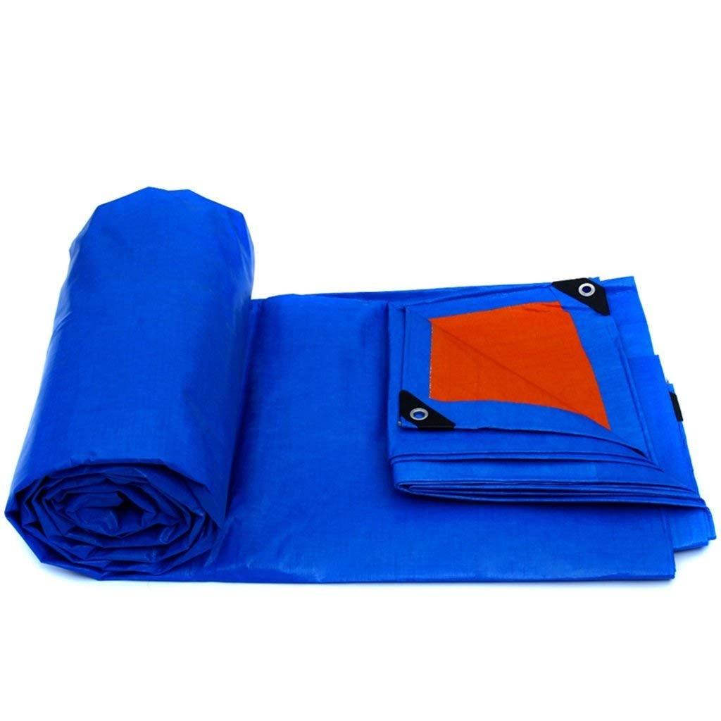 HGNA-Zeltplanen Zelt Zubehör Plane Blaue Plane,wasserdicht Plane Blatt Plane für Camping,Angeln,Gartenarbeit-175g m² Idee für Camping Wandern