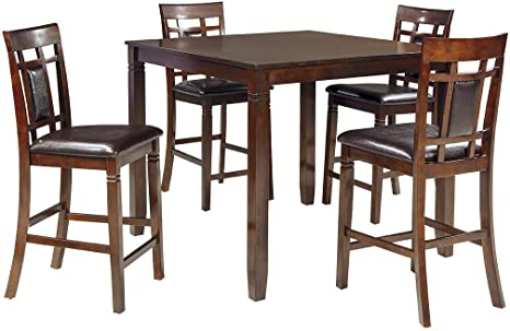 Ashley Of Bar 5Brown Bennox Furniture Room Design Counter And Signature Height Table Stoolsset Dining QrthdBxsCo