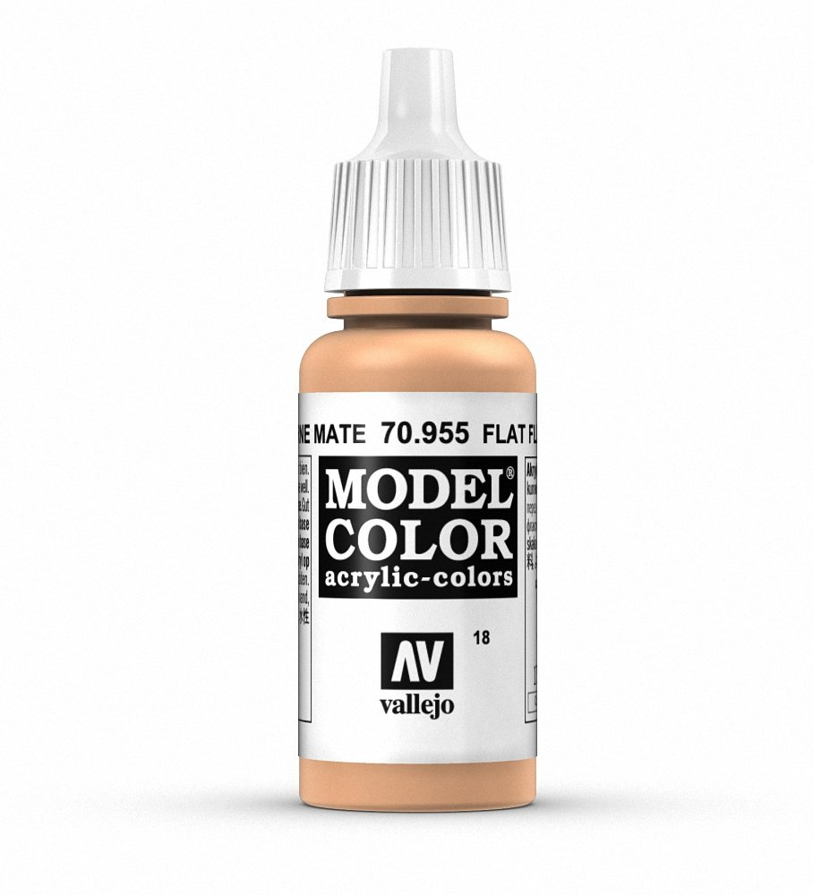 Model Color Flat Flesh, 17mil by Vallejo by Model Color (Image #1)