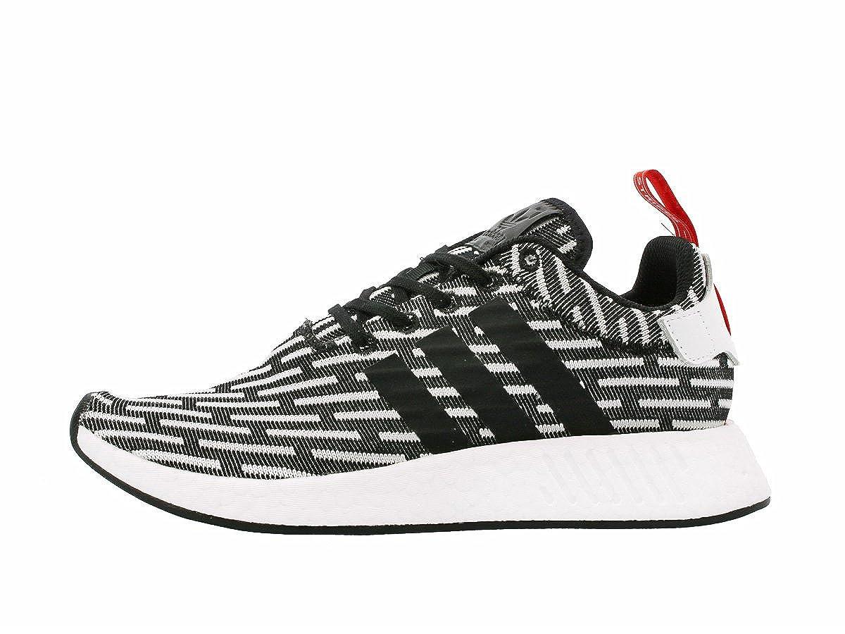 63b7b3138f688 adidas Original NMD R2 Primeknit PK Core Black White Zebra Men US Size 12   Amazon.co.uk  Shoes   Bags