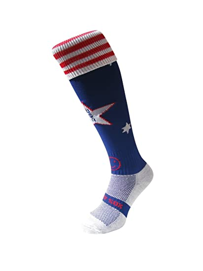 WackySox Estados Unidos América deportes calcetines Adult Shoe Size 7-11: Amazon.es: Ropa y accesorios