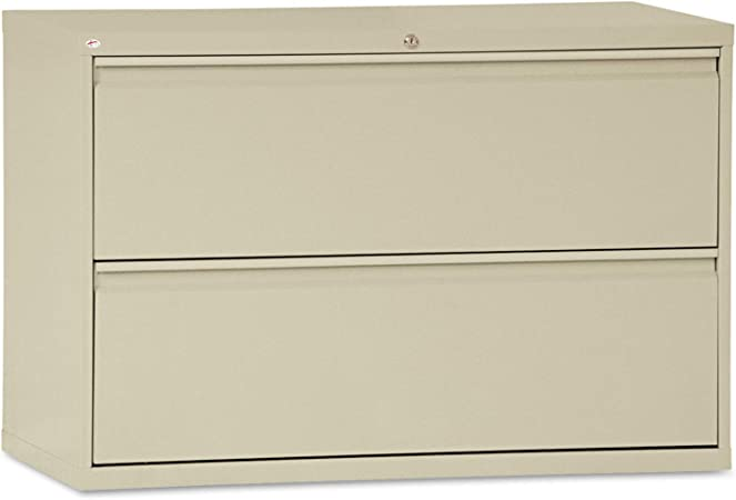 Alera 2 Drawer Lateral File Cabinet 42 X 19 1 4 X 28 3 8 Inch Putty Furniture Decor