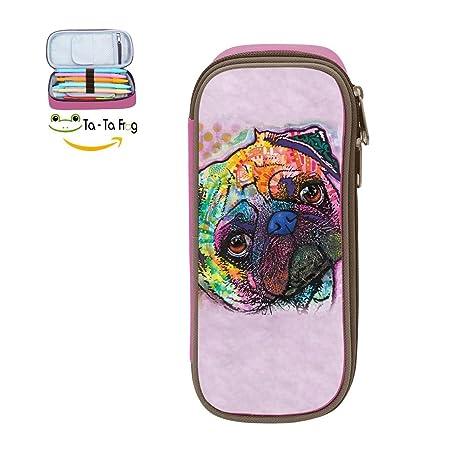 Amazon.com: Adorable perro estuche para lápices pluma ...