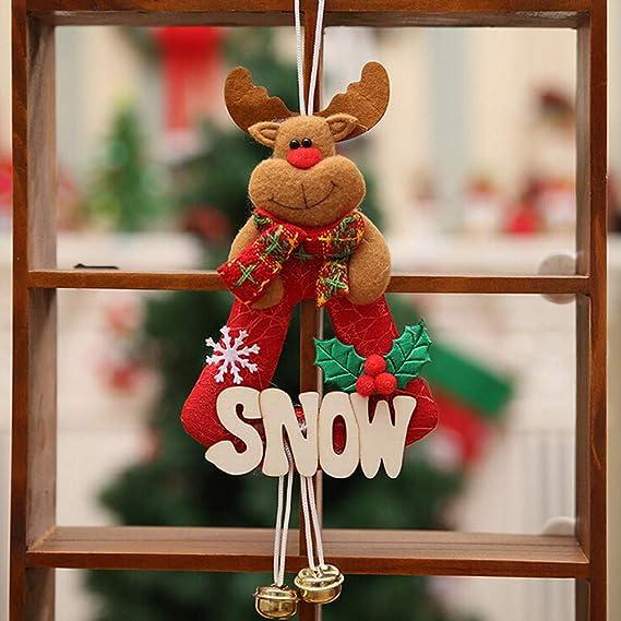 Decoracion de muebles, BaZhaHei, Adornos de Navidad Muebles para el hogar Decoración Adornos para el árbol Regalos de Navidad de Letrero de madera ...