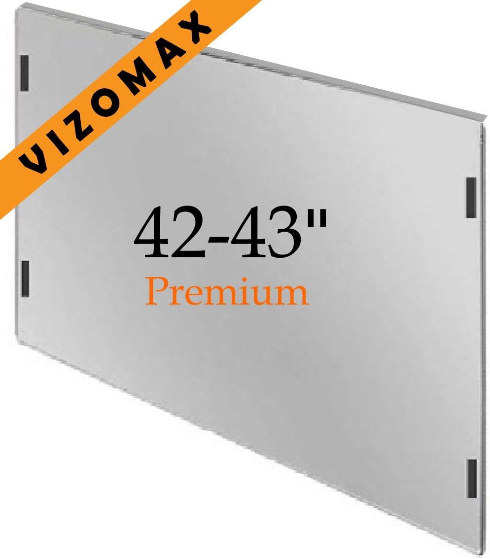 42 - 43 pulgadas Vizomax TV Protección de pantalla para televisor ...