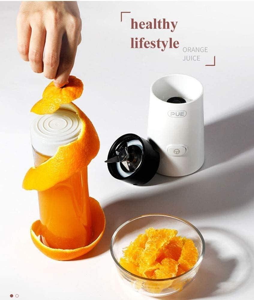XMJ Durevole Juicer Portatile Juicer Blender Coppa creatore dello Smoothie Blender Frutta Piccolo Succo di Verdura Extractor XMJ (Color : White) White
