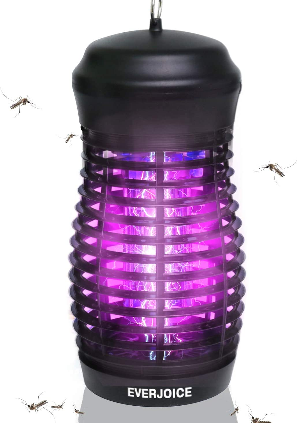 EverJoice 2020 Bug Zapper Electronic Mosquito Killer,Insect Trap Outdoor,Insect Killer Waterproof Indoor Outdoor,High Powered Electric,Hangable for Backyard, Patio, Large