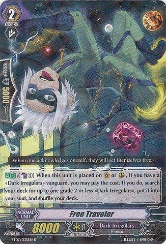 - Cardfight!! Vanguard TCG - Free Traveler (BT07/035EN) - Rampage of the Beast King
