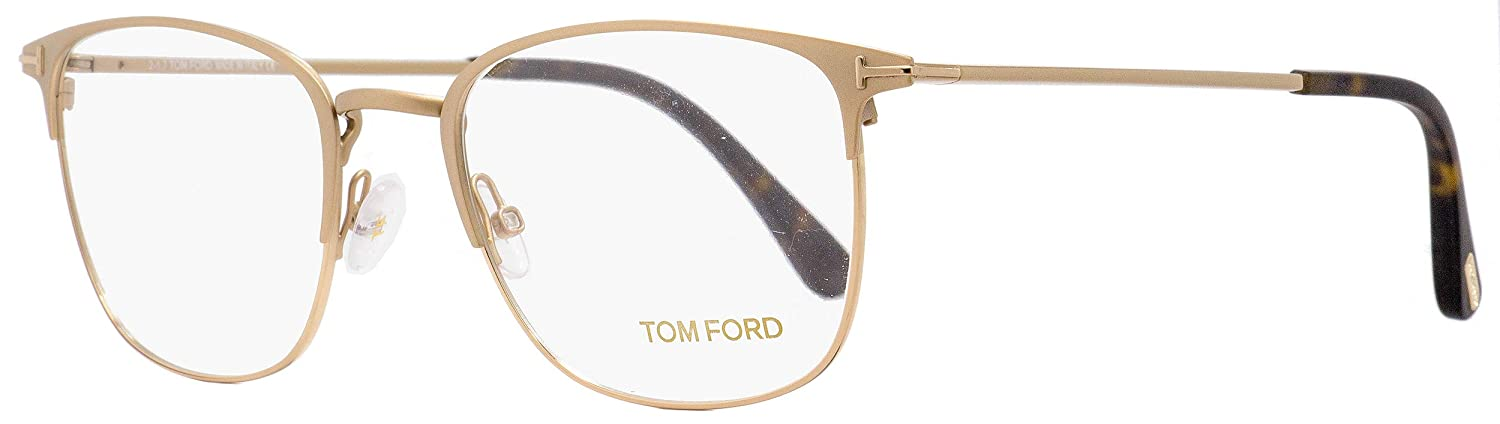 1daff8851c2 Eyeglasses Tom Ford FT 5453 029 matte rose gold at Amazon Men s Clothing  store