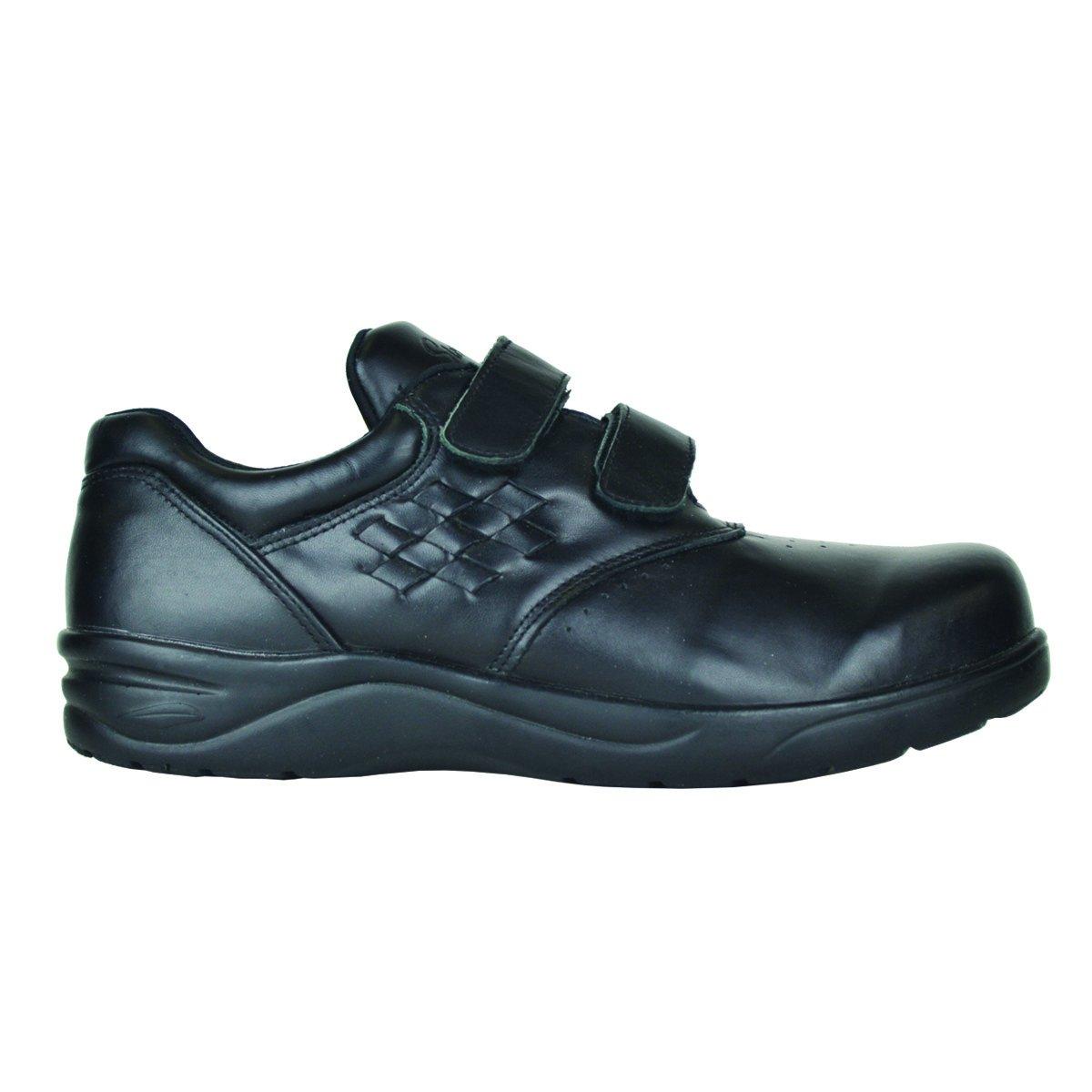 Stride Lite Women's Dublin Therapeutic Extra Depth Shoe Double Velcro Strap B01N963Q8W 15 B(M) US|Black