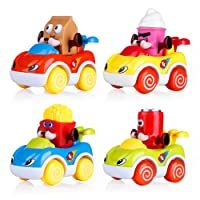 VATOS Set of 4 Toddler Toys Vehicles Deals