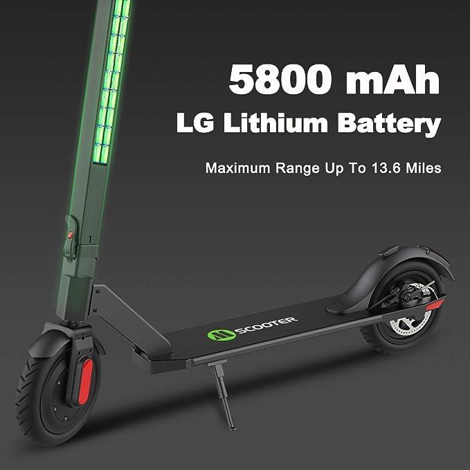 Amazon.com: MEGAWHEELS S5 Scooter eléctrico, batería de 13 ...