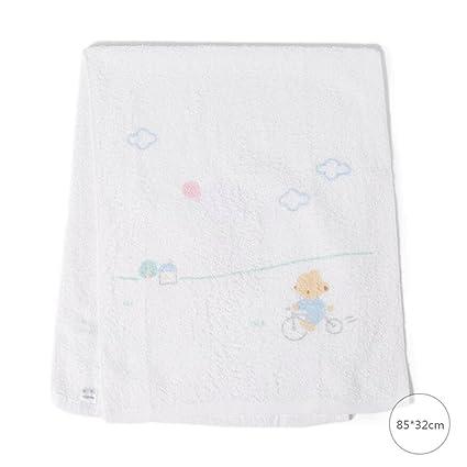 ZLR Toalla de algodón puro del bebé Toalla de impresión animal de textura suave Toalla universal