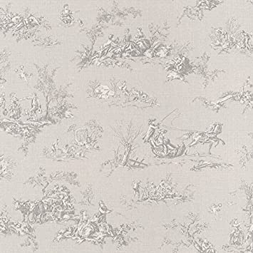 Rasch Tapete Kollektion Lazy Sunday, Toile-de-Jouy-Tapete: Amazon.de ...