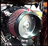 Arlen Ness 18-440 Big Sucker Stage 1 Air Cleaner Kit with Plain Backing Plate for 2014 FLT Harley Touring Models